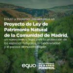Alejandro Sánchez defiende en la Asamblea el proyecto de Ley de Patrimonio Natural y Biodiversidad