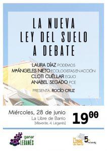 Leganés - Debate sobre la nueva Ley del Suelo @ La Libre de Barrio   Leganés   Comunidad de Madrid   España