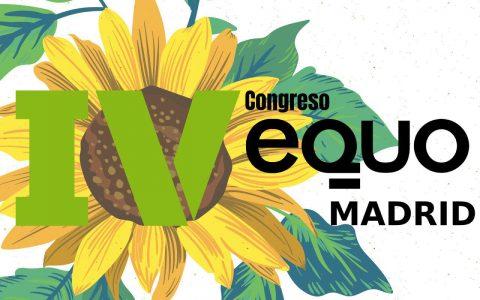 IV Congreso de Equo Madrid - 29 y 30 de septiembre de 2018
