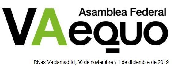 V Asamblea Federal de EQUO @ Salón de Actos del Edificio de Servicios Administrativos del Ayto de Rivas-Vaciamadrid