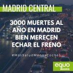 Vía libre a Madrid Central, el pleno rechaza la propuesta de paralización del PP