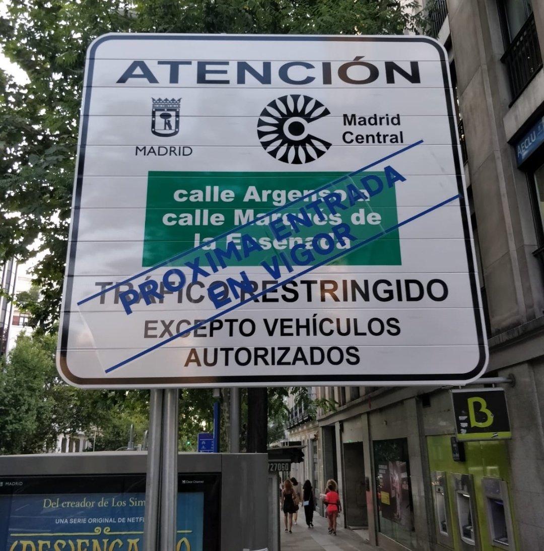 La revisión a la baja de Madrid Central es un ataque directo a la salud de la ciudadanía