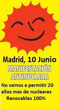 Manifestación antinuclear @ De Atocha a Legazpi | Madrid | Comunidad de Madrid | España
