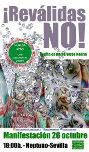 Manifestación huelga de educación 26O @ De Neptuno a Sevilla | Madrid | Comunidad de Madrid | España