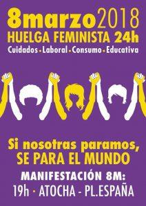 Manifestación Huelga Feminista #8M @ De Atocha a Pza. España | Madrid | Comunidad de Madrid | España