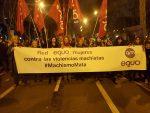 Nos sumamos a la manifestación feminista en defensa de los derechos de las mujeres que desbordó Madrid