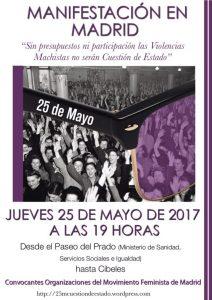 Manifestación contra la violencia machista @ Ministerio de Sanidad, Servicios Sociales e Igualdad | Madrid | Comunidad de Madrid | España