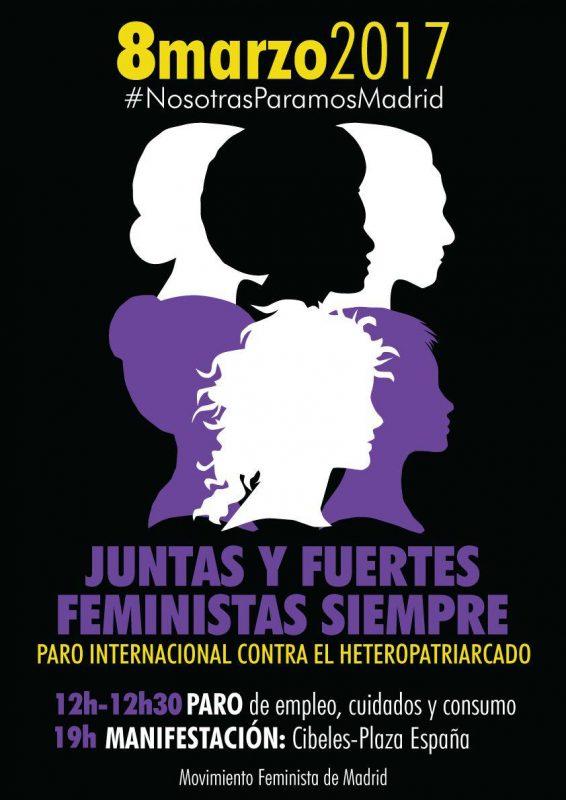 Paro y manifestación en el Día Internacional de la Mujer @ De Cibeles a Pza.España | Madrid | Comunidad de Madrid | España