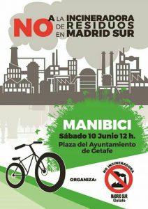 Getafe - Bicicletada contra la incineradora de Madrid Sur @ Pza. Ayuntamiento   Getafe   Comunidad de Madrid   España