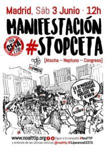 Manifestación unitaria #StopCETA @ Atocha | Madrid | Comunidad de Madrid | España