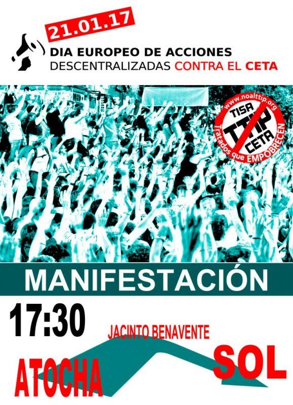 Manifestación Día Europeo de Acción contra el CETA @ Atocha | Madrid | Comunidad de Madrid | España