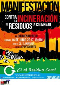 Colmenar - Manifestación contra la incineración de residuos @ C.C. El Mirador   Colmenar Viejo   Comunidad de Madrid   España