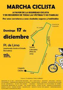 Bicimarcha a favor de la seguridad ciclista @ Estadio Santigo Bernabéu | Madrid | Comunidad de Madrid | España
