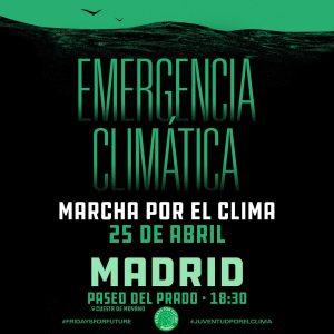 Marcha por el clima @ Paseo del Prado esquina con Cuesta de Moyano