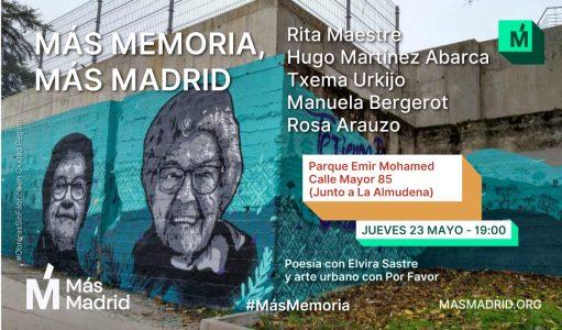 +Memoria +Madrid @ Calle Mayor 85, Parque Emir Mohamed
