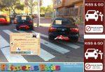 Campaña de sensibilización de Equo y Bicillecas contra la ocupación de los accesos peatonales a los colegios