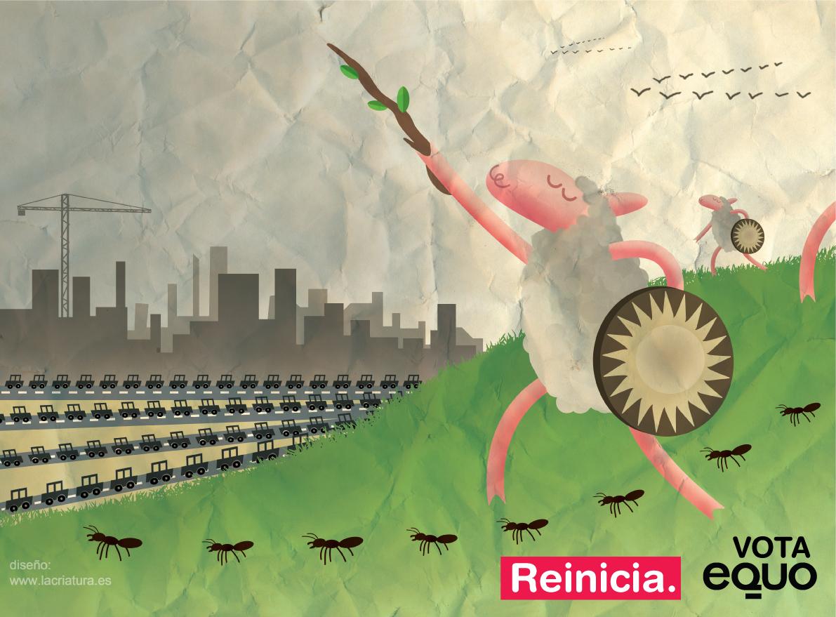 Cartel electoral-Oveja