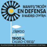 Colectivos de diversos ámbitos crean la Plataforma en Defensa de Madrid Central