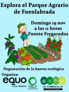 EQUO Fuenlabrada - Ruta ecológica Parque Agrario @ Fuente Fregacedos | Fuenlabrada | Comunidad de Madrid | España
