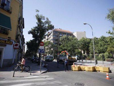 Concentración de apoyo al Plan Chamberí Zona 30 @ Calle Galileo  | Madrid | Comunidad de Madrid | España