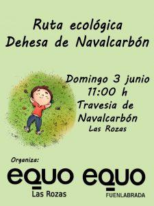 Ruta Ecológica por la Dehesa de Navalcarbón @ Travesía de Navalcarbón, Las Rozas | Las Rozas | Comunidad de Madrid | España