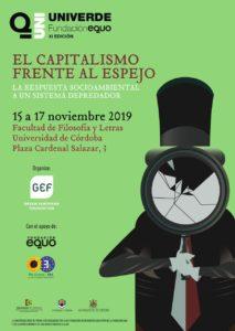 XI Univerde. 'El capitalismo frente al espejo' @ Facultad de Filosofía y Letras