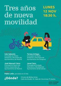 Tres años de nueva movilidad @ Círculo de Bellas Artes, Sala de las columnas | Madrid | Comunidad de Madrid | España