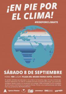 ¡En pie por el clima! @ Plaza del Museo Reina Sofía | Madrid | Comunidad de Madrid | España