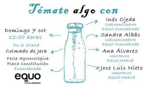 Tómate algo con nuestras coportavoces @ Colmado de Jera (Feria Agroecológica Fuenlabrada) | Málaga | Andalucía | España