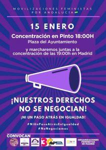 Concentración en Pinto ¡Ni un paso atrás en igualdad! @ Plaza del Ayuntamiento, Pinto | Pinto | Comunidad de Madrid | España