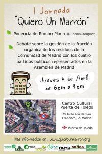 I Jornada 'Quiero un marrón' @ Centro Cultural Puerta de Toledo