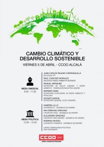 Cambio climático y desarrollo sostenible @ CCOO Alcalá