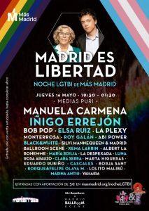 Noche LGTBI de Más Madrid @ Medias Puri