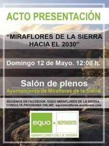 Inicio campaña EQUO Miraflores @ Salon de plenos Ayto Miraflores