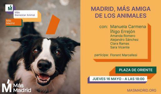 Madrid, Más amiga de los animales @ Plaza de Oriente