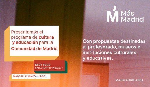+Madrid Educación @ Martin de Vargas 7