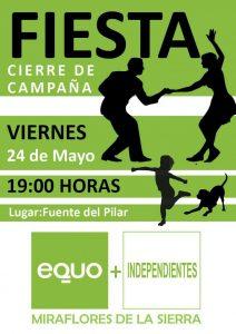 Cierre campaña Miraflores @ Fuente del Pilar