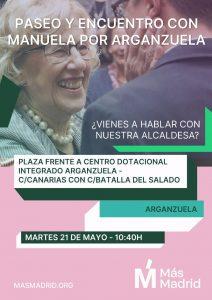 Paseo con Manuela por Arganzuela @ Estación de cercanias Delicias