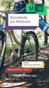 Bicicletada por Móstoles @ Renfe Móstoles Central