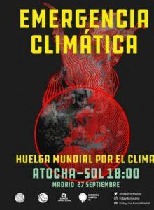 Emergencia climática. Huelga y manifestación @ De Atocha a Sol