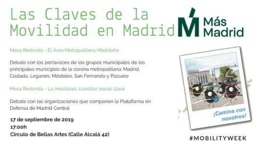 Las claves de la movilidad en Madrid @ Círculo de Bellas Artes