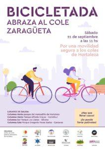 Bicicletada por una movilidad segura a los coles de Hortaleza @ Parque del Mercadillo de Hortaleza
