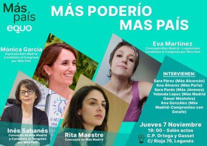 Más poderío. Encuentro intergeneracional de mujeres @ Salón de Actos CP Ortega y Gasset