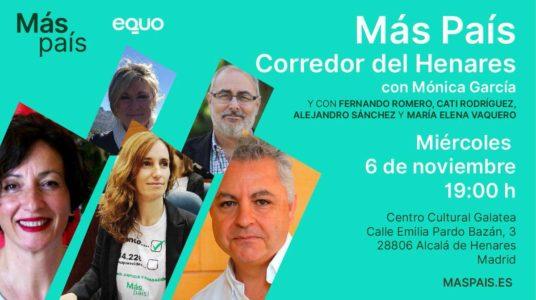 Más País EQUO 'Corredor del Henares' @ Centro Cultural Galatea