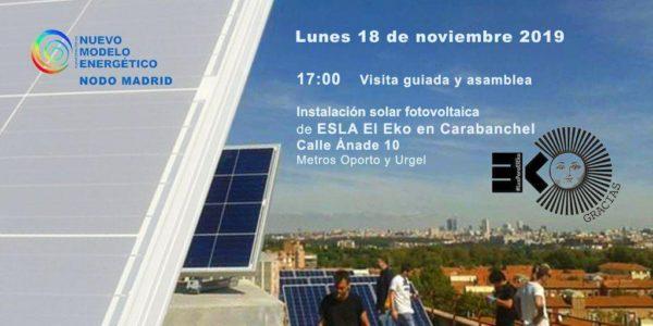 Visita guiada y Asamblea de la Plataforma por un Nuevo modelo energético @ ESLA El Eko