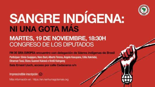 Jornada Sangre Indígena en el Congreso @ Congreso de los Diputados