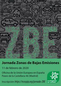 Jornada sobre zonas de bajas emisiones @ Oficina de la Unión Europea en España