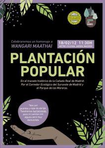 Plantación Popular @ Metro Colonia Jardín | Madrid | Comunidad de Madrid | España