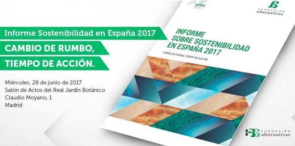 Presentación Informe sobre Sostenibilidad en España 2017 @ Jardín Botánico    Madrid   Comunidad de Madrid   España