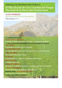 Jornada de información pública sobre el PRUG